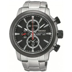 Seiko Men's Watch Neo Sport Alarm Chronograph Quartz SNAF47P1