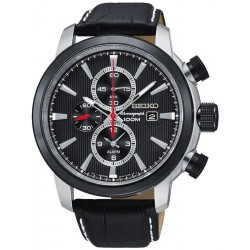 Seiko Men's Watch Neo Sport Alarm Chronograph Quartz SNAF47P2