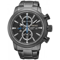 Seiko Men's Watch Neo Sport Alarm Chronograph Quartz SNAF49P1