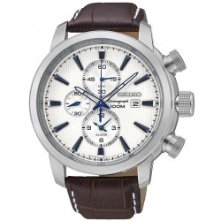Seiko Men's Watch Neo Sport Alarm Chronograph Quartz SNAF51P1