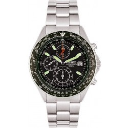 Buy Seiko Men's Watch Flightmaster Pilot Chronograph Quartz SND253P1