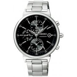Buy Seiko Unisex Watch Neo Classic SNDW49P1 Chronograph Quartz