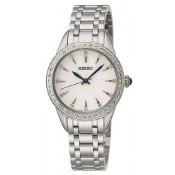 Buy Seiko Ladies Watch Swarovski Crystals SRZ385P1 Quartz
