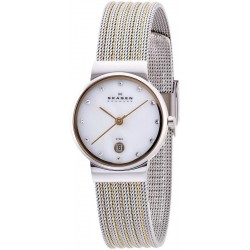 Buy Skagen Ladies Watch Ancher 355SSGS Mother of Pearl