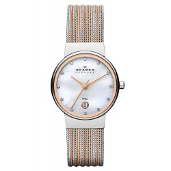 Buy Skagen Ladies Watch Ancher 355SSRS Mother of Pearl