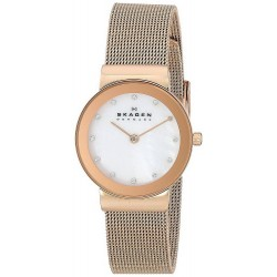 Buy Skagen Ladies Watch Freja 358SRRD Mother of Pearl