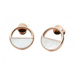 Buy Skagen Ladies Earrings Elin SKJ0998791 Mother of Pearl