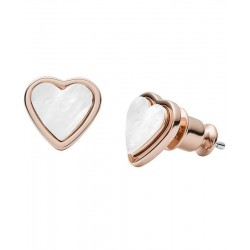 Buy Skagen Ladies Earrings Katrine SKJ1254791 Heart Mother of Pearl