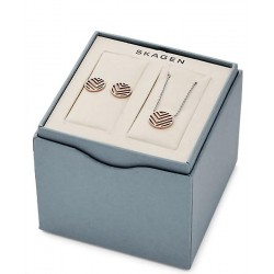 Buy Skagen Ladies Necklace + Earrings Elin SKJB1001998