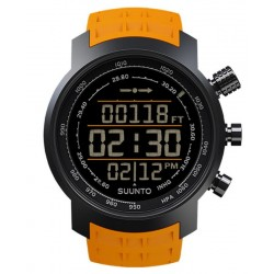 Suunto Elementum Terra Amber Rubber Men's Watch SS019172000