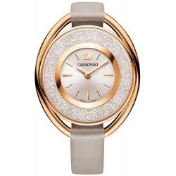 Swarovski Ladies Watch Crystalline Oval Rose Gold Tone 5158544