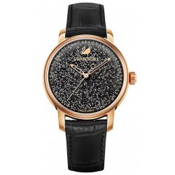 Swarovski Ladies Watch Crystalline Hours Black 5218902 Automatic