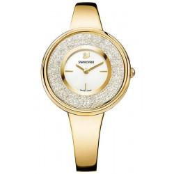 Swarovski Ladies Watch Crystalline Pure Yellow Gold Tone 5269253