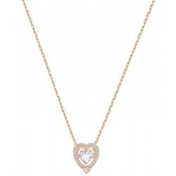 Swarovski Ladies Necklace Sparkling Dance Heart 5284188