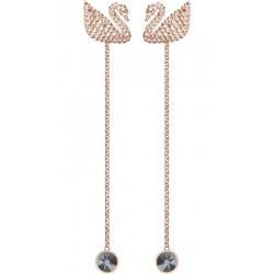 Buy Swarovski Ladies Earrings Iconic Swan 5373164
