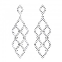 Buy Swarovski Ladies Earrings Chandelier Lace 5382358