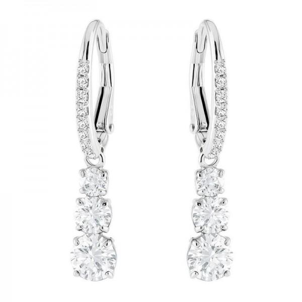 Buy Swarovski Ladies Earrings Attract Trilogy Round 5416155