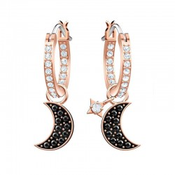 Buy Swarovski Ladies Earrings Duo Moon 5440458