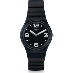 Buy Swatch Unisex Watch Gent Blackhot S GB299B