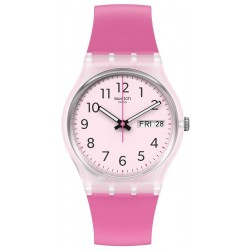 Swatch Ladies Watch Gent Rinse Repeat Pink GE724
