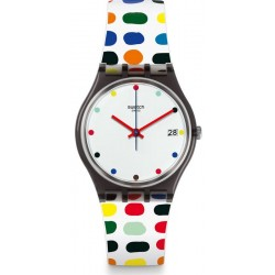 Swatch Ladies Watch Gent Milkolor GM417