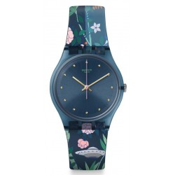Swatch Ladies Watch Gent Ovni Garden GN258