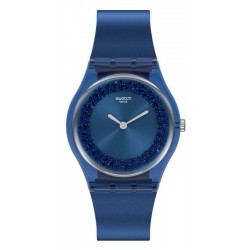 Swatch Ladies Watch Gent Sideral Blue GN269