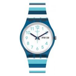 Swatch Unisex Watch Gent Striped Waves GN728