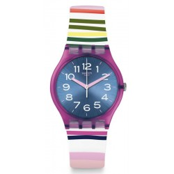 Swatch Ladies Watch Gent Funny Lines GP153