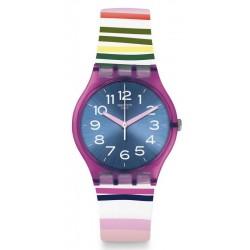 Buy Swatch Ladies Watch Gent Funny Lines GP153