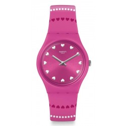 Swatch Ladies Watch Gent Coeur De Manège GP160
