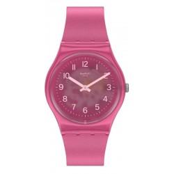Swatch Ladies Watch Gent Blurry Pink GP170