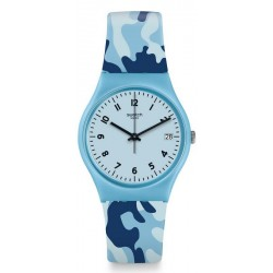 Buy Swatch Ladies Watch Gent Camoublue GS402