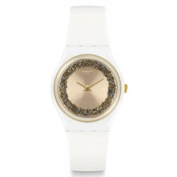 Swatch Ladies Watch Gent Sparklelight GW199