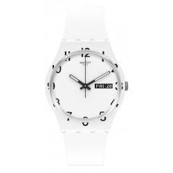 Swatch Unisex Watch Gent Over White GW716