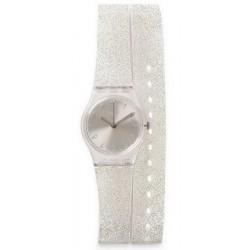 Swatch Ladies Watch Lady Silver Glistar LK343