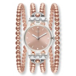 Swatch Ladies Watch Lady Pink Prohibition LK354