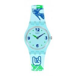 Swatch Ladies Watch Lady #Greentouche LN157