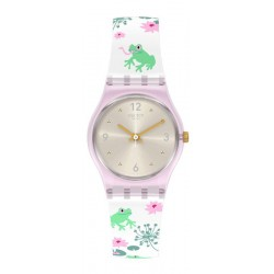 Swatch Ladies Watch Lady Enchanted Pond LP160