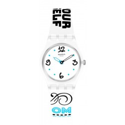 Swatch Ladies Watch Lady #Bluefeather LW171