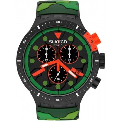Swatch Watch Big Bold Chrono Escapejungle SB02B409