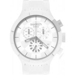 Swatch Watch Big Bold Chrono Chequered White SB02W400