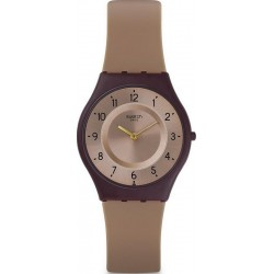 Buy Swatch Ladies Watch Skin Classic Moccame SFC106