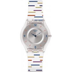 Buy Swatch Ladies Watch Skin Classic Thin Liner SFE108