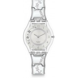 Buy Swatch Ladies Watch Skin Classic Climber Flowery SFK300G