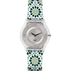 Swatch Ladies Watch Skin Classic Botanical Bomb SFK327