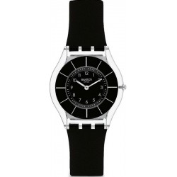 Buy Swatch Ladies Watch Skin Classic Black Classiness SFK361