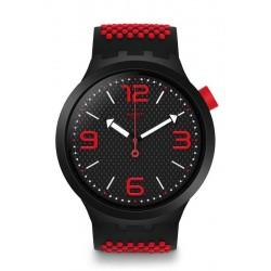 Buy Swatch Men's Watch Big Bold BBBlood SO27B102