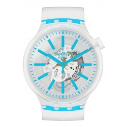 Swatch Watch Big Bold Blueinjelly SO27E105