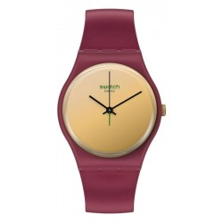Swatch Ladies Watch Gent Goldenshijian SO28R102